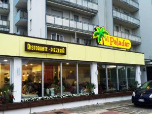 Insegne a cassonetto Ristorante Pizzeria El Paladar