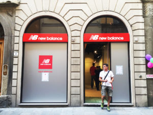 Insegne a cassonetto New Balance