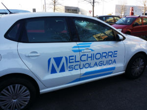 Melchiorre Autoscuola Car Wrapping