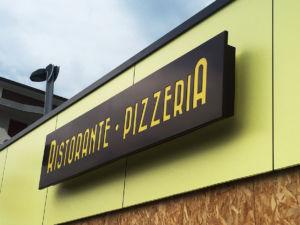 Insegna a cassonetto Ristorante Pizzeria El Paladar