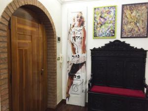 Rivestimento porta con grafica