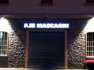 Insegne a cassonetto F.lli Mascagni