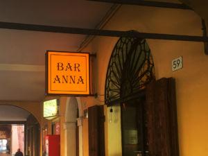 Insegna a cassonetto Bar Anna