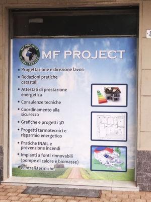 MF Impianti Manifesto adesivo
